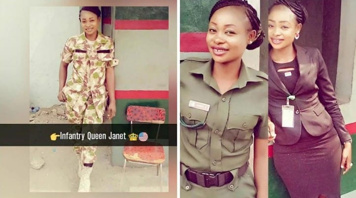 Hook up with nigerian female soldiers